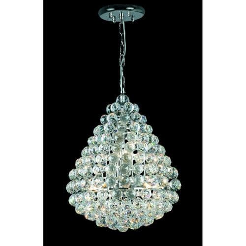 Impex Lighting CE05340/08/CH Marseille Lead Crystal Empire